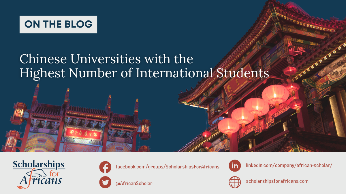 Chinese Universities with the Highest Number of International Students