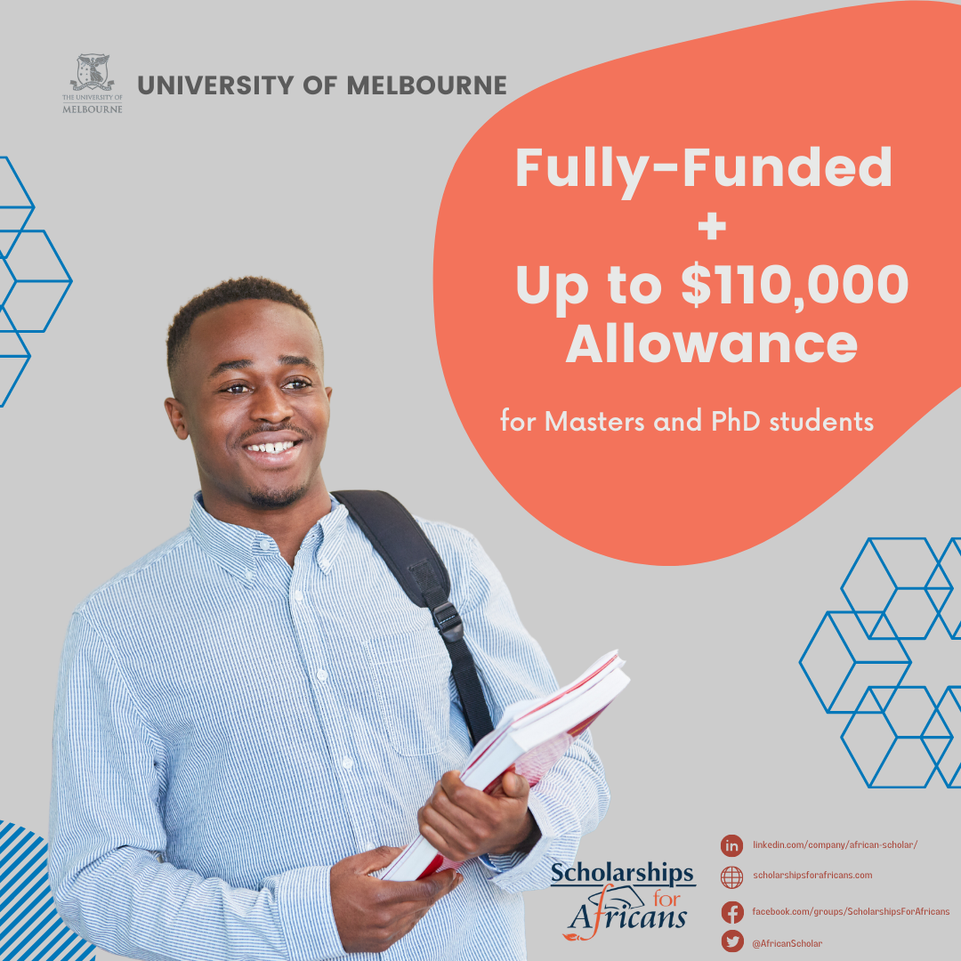 Melbourne International Research Scholarship at the University of Melbourne
