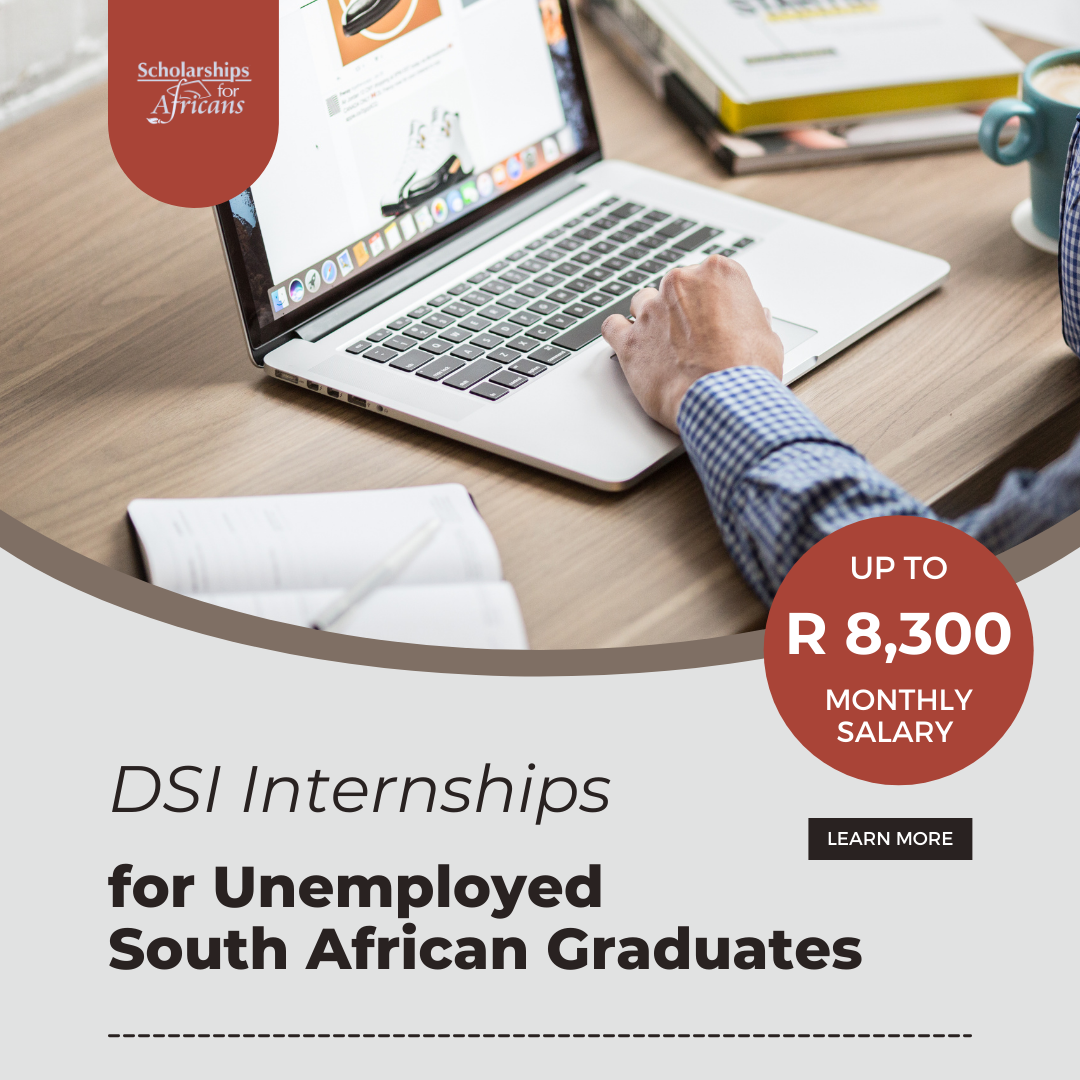 Department of Science and Innovation Internships for Unemployed South African Graduates