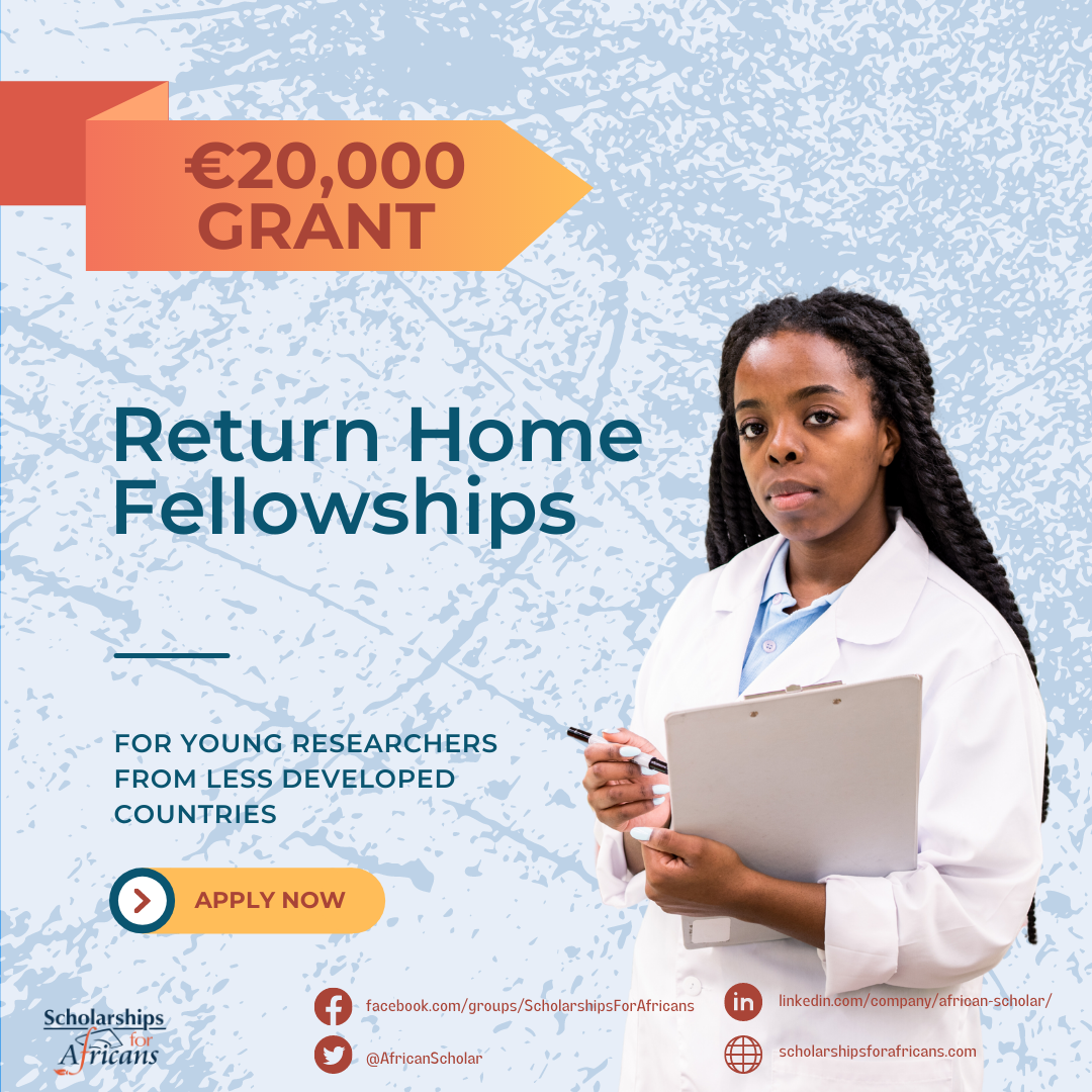 International Brain Research Organization Offers €20,000 Grant – Return Home Fellowships for Young Researchers from Less Developed Countries