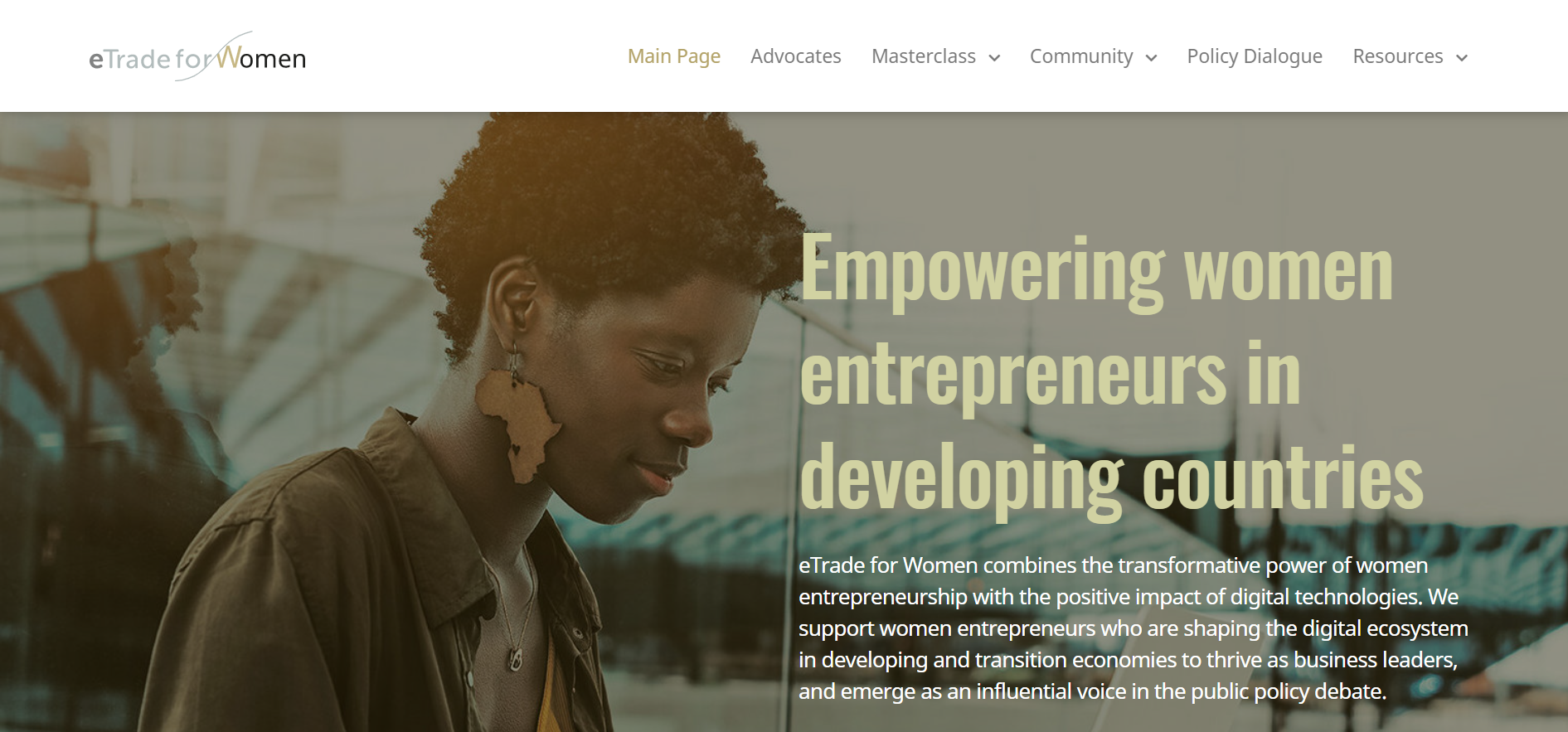United Nations eTrade for Women Masterclass in East Africa