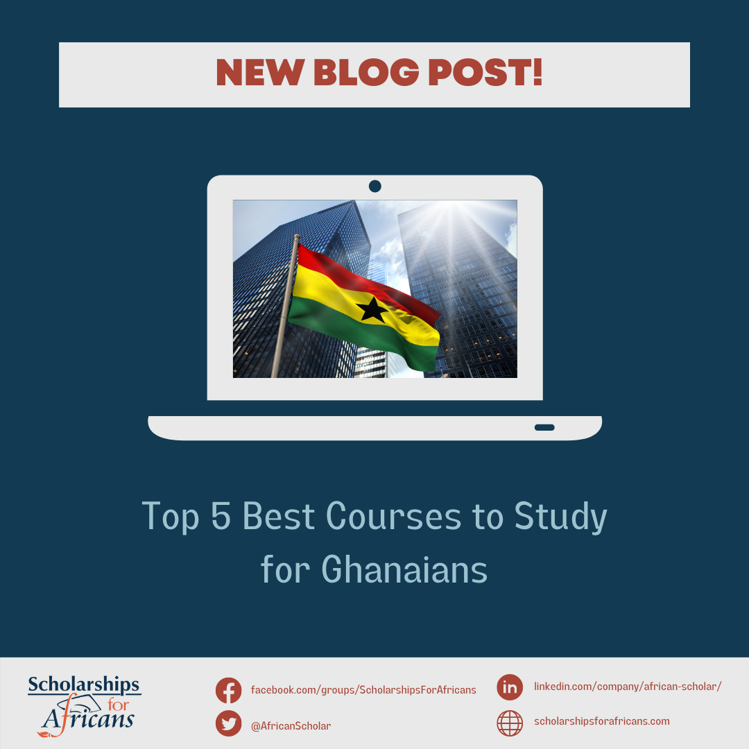 Best Courses to Study for Ghanaians