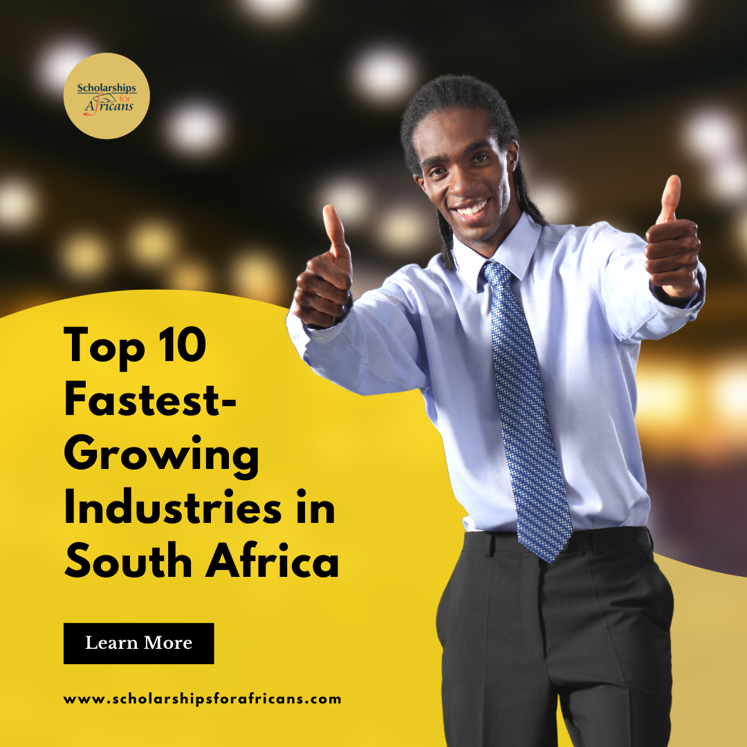 fastest-growing industries in South Africa