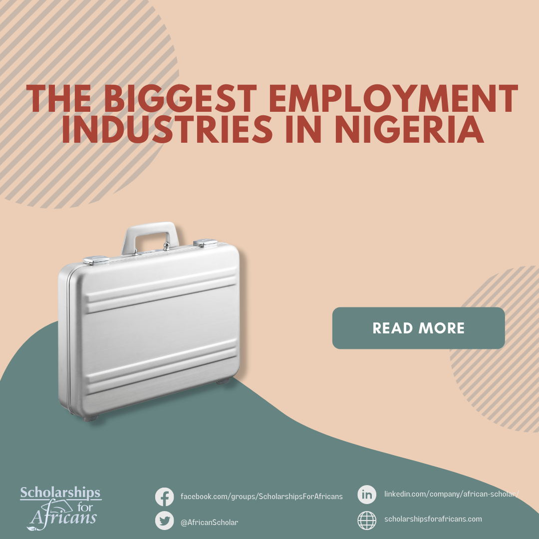The biggest employment industries in Nigeria