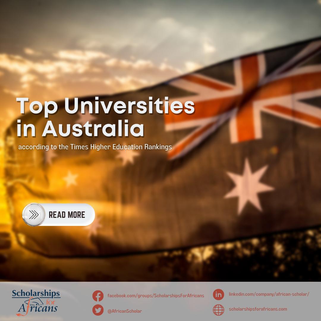 Top universities in Australia