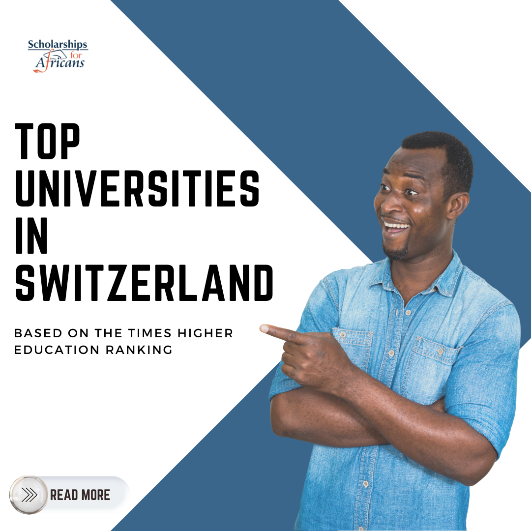 Top Universities in Switzerland According to Times Higher Education